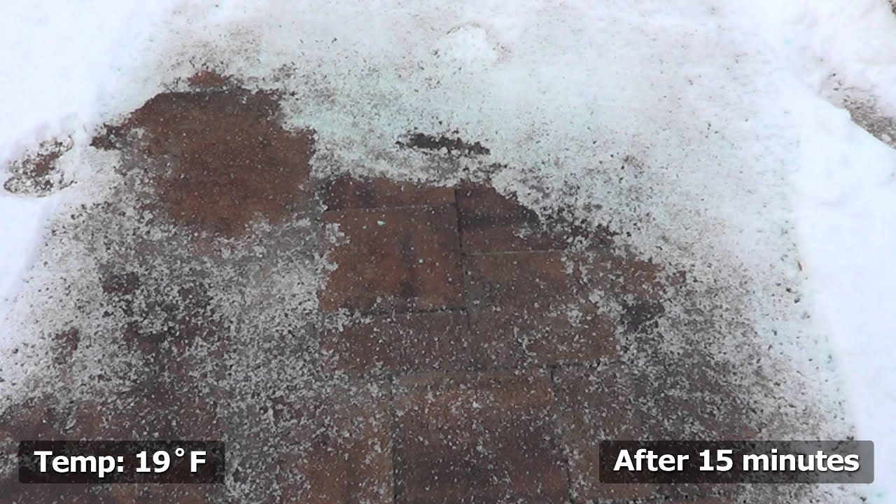 Ice Melt Pellets Safe for Concrete Asphalt PlantLife YouTube