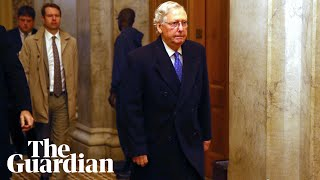 Mitch McConnell and Chuck Schumer speak on Senate floor after Trump impeachment - as it happened