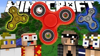 If FIDGET SPINNERS were Added to Minecraft