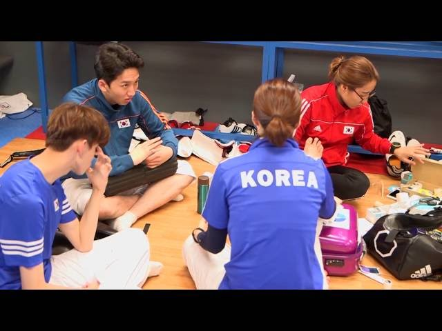 adidas taekwondo Korea national team #roadtoglory