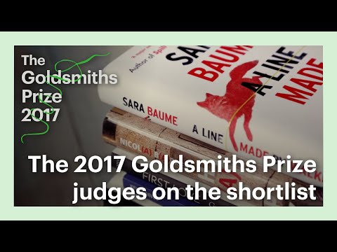 The 2017 Goldsmiths Prize judges on the shortlist