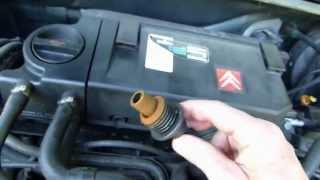 Comment démonter bougies, faisceaux et bobine sur Citroën ZX essence.