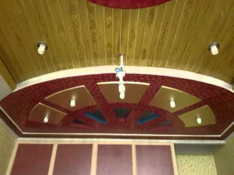 Plaster Of Paris Ceiling By Salman Youtube