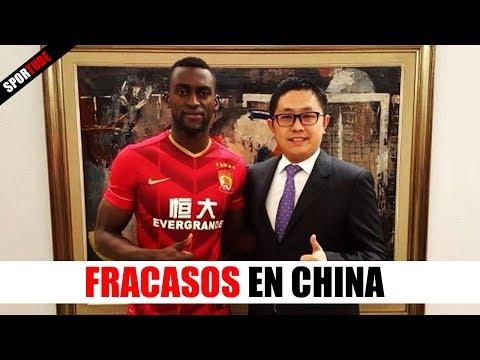 7 Cracks que FRACASARON en el Fútbol CHINO