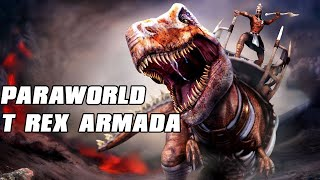 Paraworld Gameplay - Dinosaur RTS - T REX ARMADA