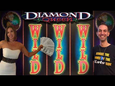 DIAMOND QUEEN * HUGE WIN * HIGH LIMIT SLOTS WITH BRIAN CHRISTOPHER *