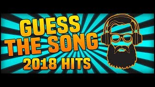 GUESS THE SONG Challenge | 2018 HITS - Song Quiz