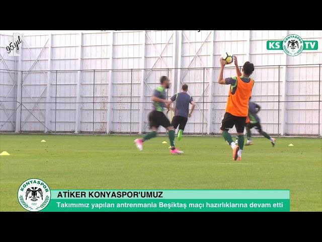 Takımımız Beşiktaş lig maçının hazırlıklarına devam etti