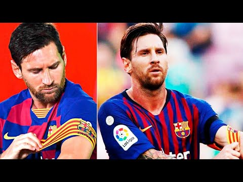 MESSI ISN'T BARCELONA'S CAPTAIN ANYMORE?!