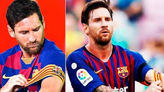 ... messi will refuse from captain's position in barcelona, lionel made a hard decision and he inform ronald koema...