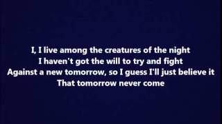 Laura Branigan - Self control (Lyrics)