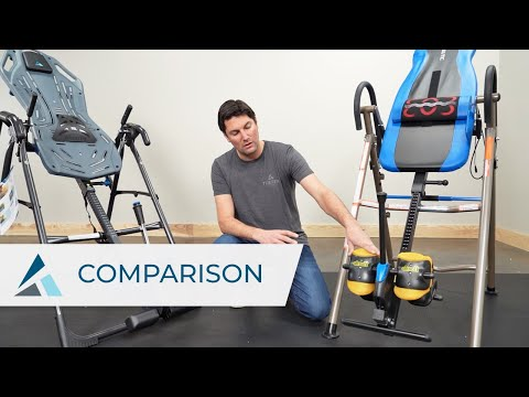 Comparing Teeter And Exerpeutic Inversion Tables