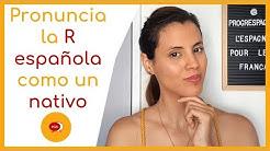Une Technique Simple pour Prononcer le R en Espagnol ✅