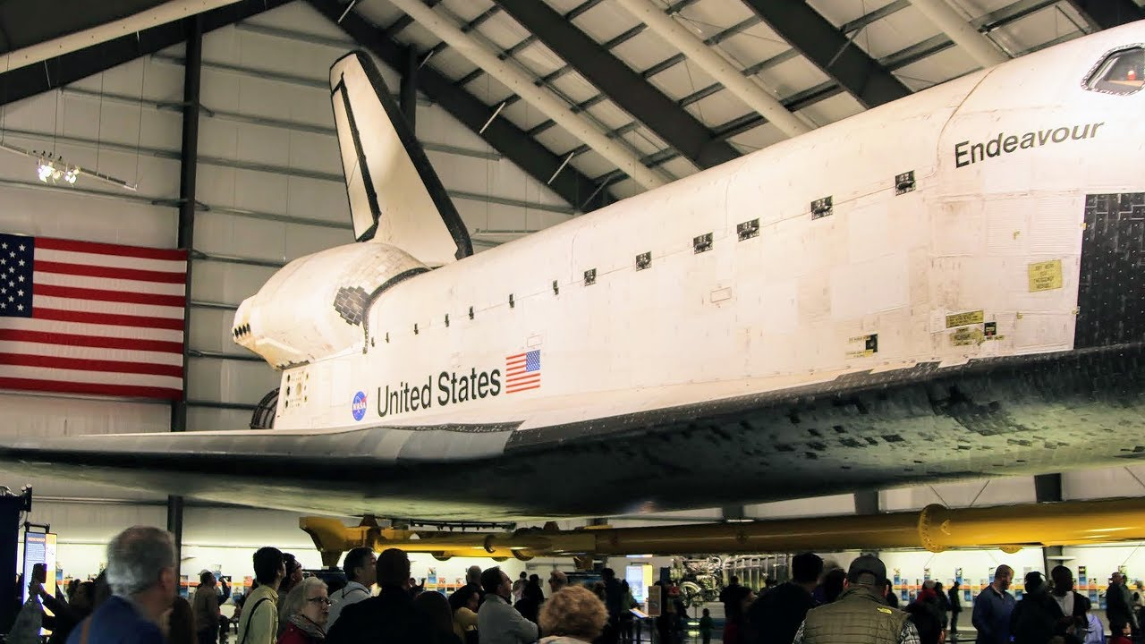 NASA Space Shuttle Endeavour in Retirement - YouTube