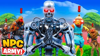 *NEW* Terminator in Fortnite (NPC Army)