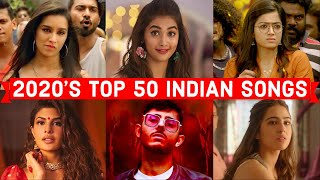 2020's Most Viewed Indian/Bollywood Songs on YouTube | Top 50 Indian Songs of 2020