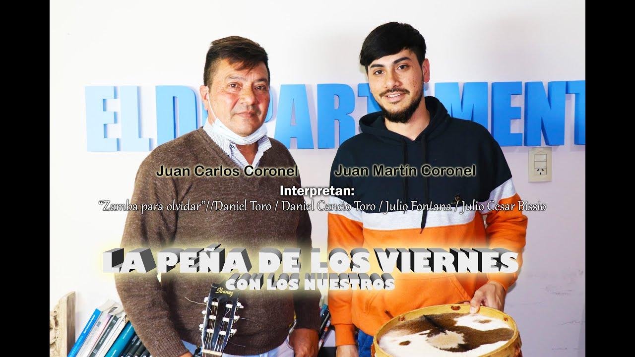 """Juan Carlos Coronel, Juan Martín Coronel // """"Zamba para olvidar"""""""
