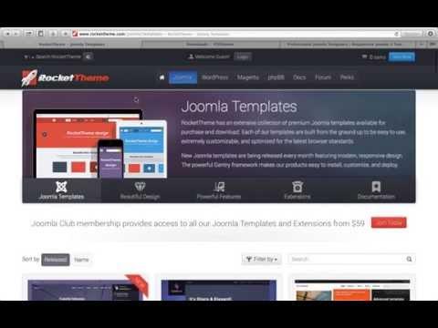Бесплатные студийные шаблоны для Joomla