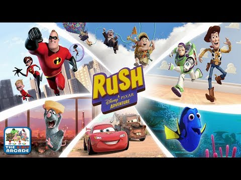 Rush: A Disney-Pixar Adventure - Experience the Thrills of each Pixar World (Xbox One Gameplay)