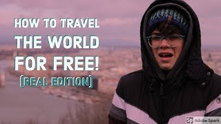 KOLBY TIME: HOW TO TRAVEL FOR FREE (not clickbait)| Budapest Part 2