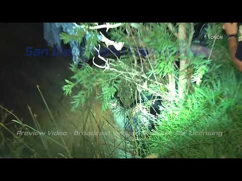 OCEANSIDE: Stolen Vehicle Pursuit Ends After Cops Find Suspect Hiding In Swamp 9/13/17