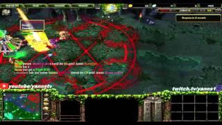 DotA 6.83d Gameplay Bloodseeker, Strygwyr Radiance на 11 й минуте