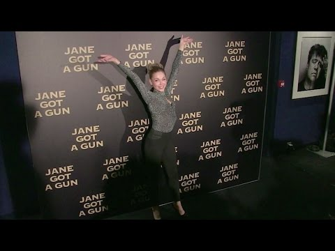 Nineties superstar Indra at Jane Got a Gun Premiere in Paris