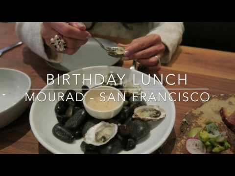 Moroccan Birthday Lunch At Mourad In San Francisco