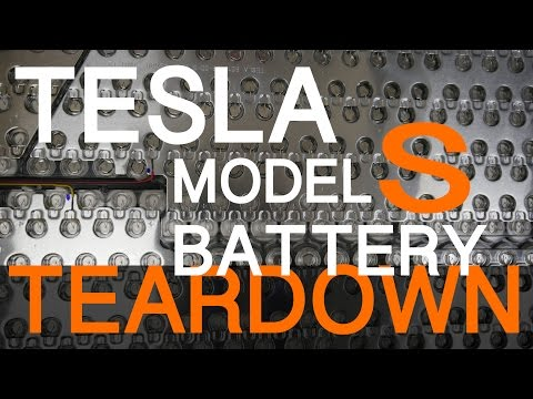 Ever wondered what's inside a Tesla battery pack? Watch this