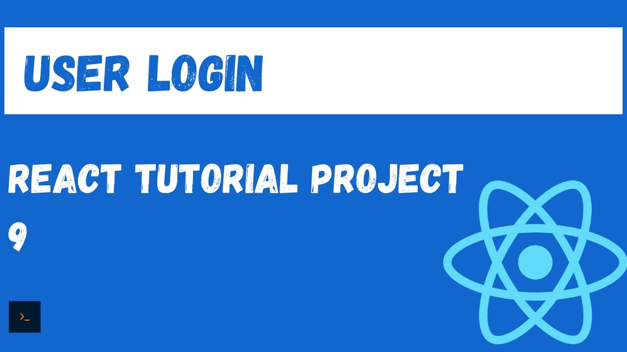 React Authentication (User Login) - Fully Featured React Project Tutorial