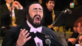 The Great Luciano Pavarotti at 2006 Winter Olympics in Italy- Opening Ceremony 1080p HD
