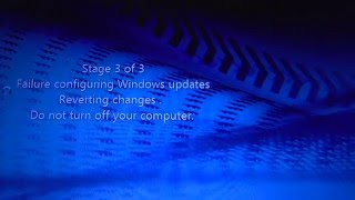 Video Failure Configuring Windows updates REVERTING changes HOW TO FIX download MP3, 3GP, MP4, WEBM, AVI, FLV Oktober 2018