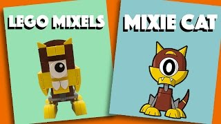 LEGO Mixels - Mixie Cat - Stop Motion Build (How to Build)