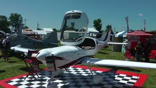 Visiting AirVenture 2017 Oshkosh Kit Plane Vendors