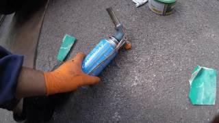 Chrysler Dodge Oil Pan Repair / Ремонт масляного поддона Chrysler Dodge