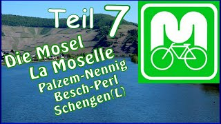 Mosel - Radweg 🍇 #7 - Dreiländereck  🇩🇪 - 🇫🇷 - Lux Perl,Schengen | Ziel erreicht [RADREISE DOKU]