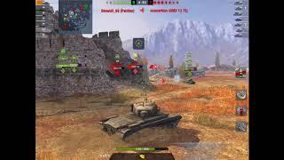 "WoT Blitz | T32 4.4k dmg Valiant Effort | ""No Room for Error"""
