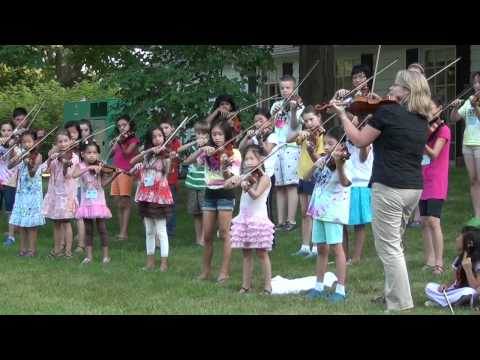 Music Institute of Chicago - Chaotic Fiddle Jam Part 1