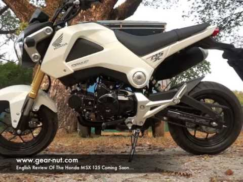 honda msx 125 review youtube. Black Bedroom Furniture Sets. Home Design Ideas