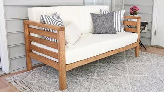 DIY Outdoor Couch | How to Build an Outdoor Sofa!