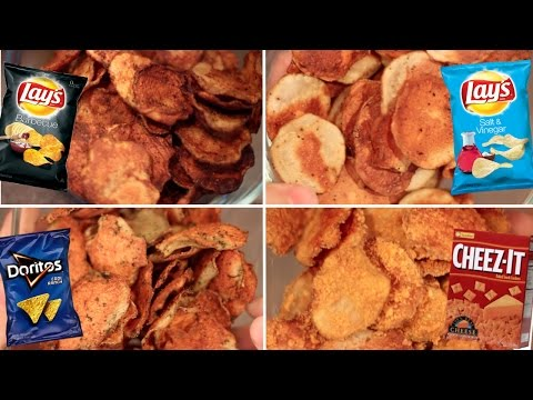 Baked Chips 4 Ways Review- Buzzfeed Test #59