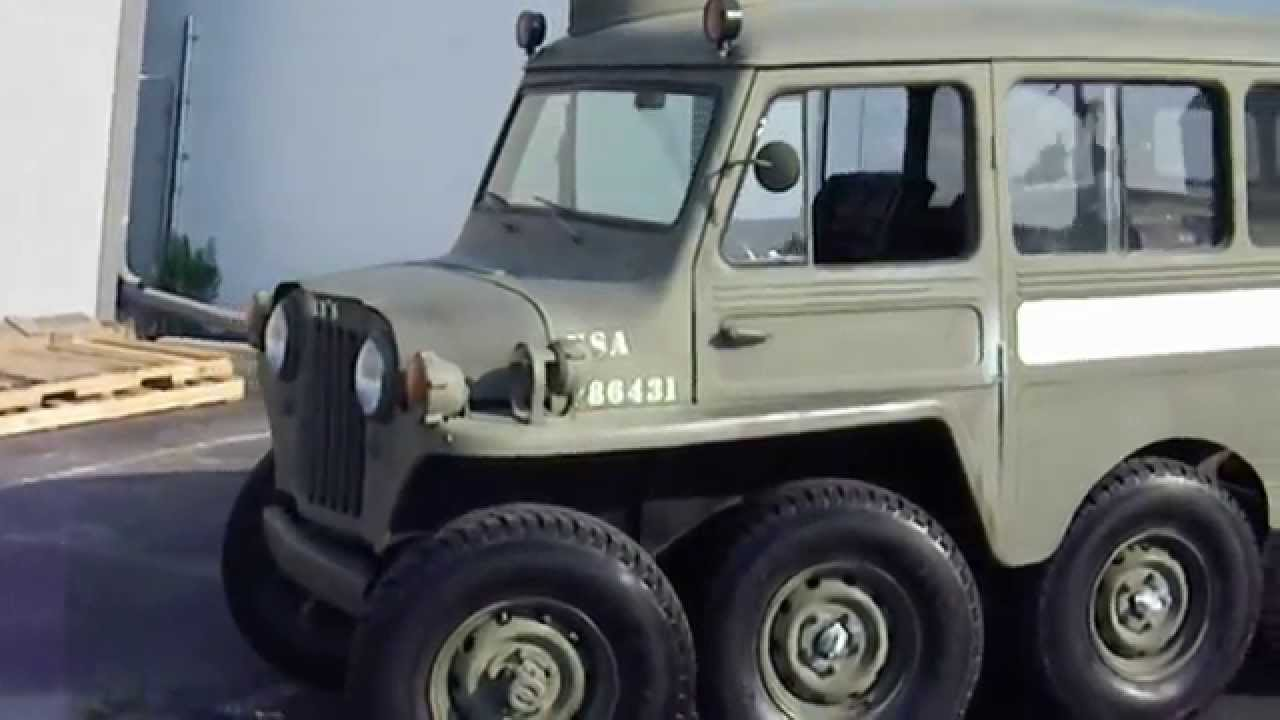 RARE RARE 1953 Willys 8X8 Military V8 powered Rig...MUST ...