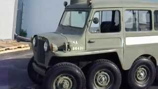 RARE RARE 1953 Willys 8X8 Military V8 powered Rig...MUST SEE