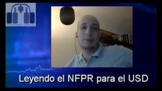 Leyendo cífras del NFPR para el USD