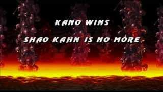 Ultimate Mortal Kombat 3: Kano Playthrough thumbnail