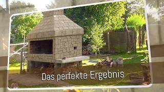 Putz / Natursteinimitat / Grill / Sandstein / gestalten