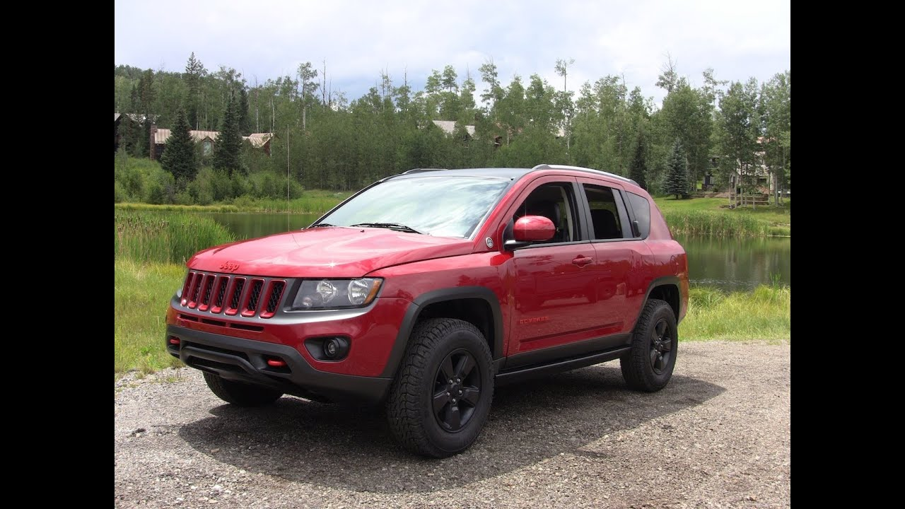 Lifted jeep compass
