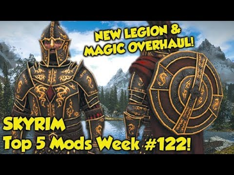 Skyrim Top 5 Mods of the Week #122 (Xbox One & PS4 Mods)