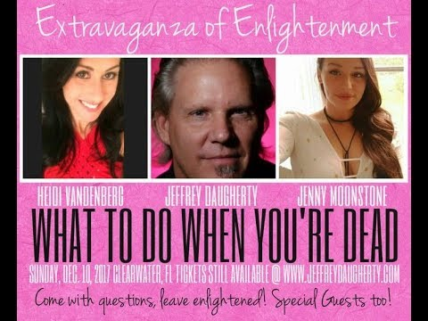 What to do after you're dead Dec 10 with Jeff Daugherty