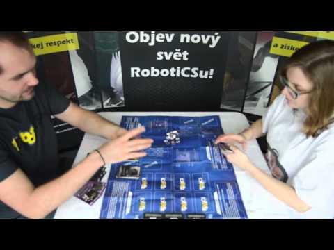 Autorské představení karetní hry RobotiCS